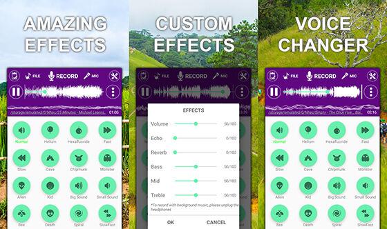 Aplikasi Pengubah Suara Android Voice Changer Ba497