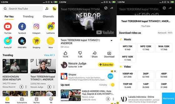 Aplikasi Download Video Youtube Tercepat Snaptube Cef42