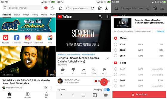 Aplikasi Download Youtube Vidmate 541e0