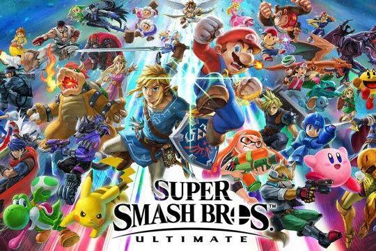 Super Smash Bross Custom 1ac35