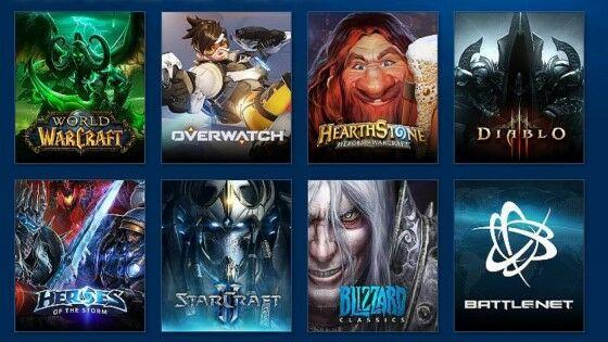 Blizzard Games 3d221