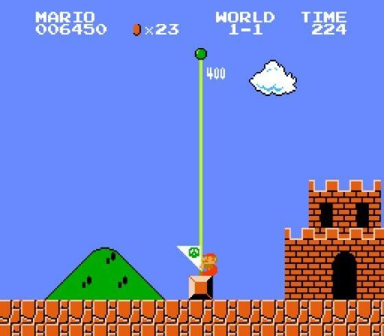 Hoax Mario Bros 4 4defc