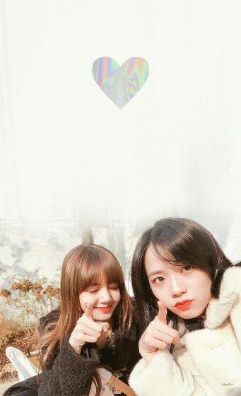 Foto Blackpink Jisoo Dan Lisa Custom 7c35d