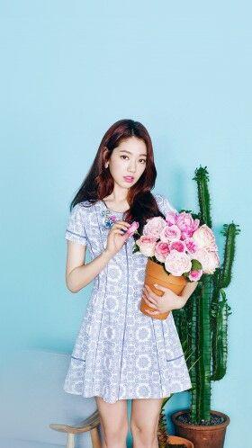 Foto Aktris Korea Cantik Park Shin Hye 02 D526e