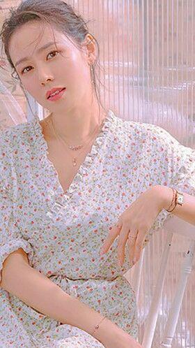 Foto Aktris Korea Cantik Son Ye Jin 02 E50bd