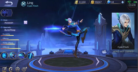 Ling Mobile Legends Skill 8de9d