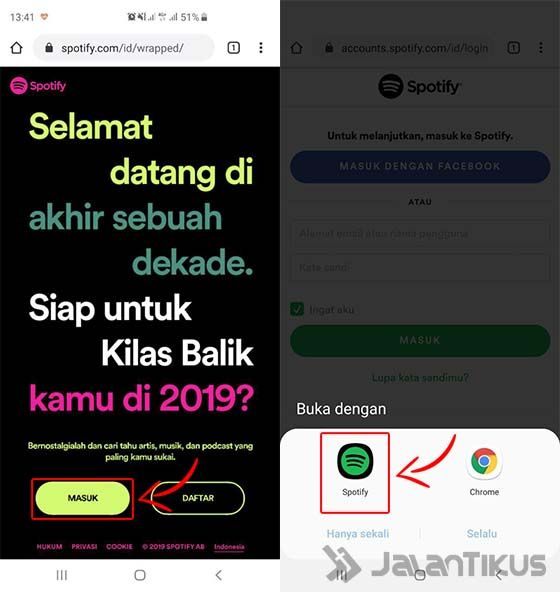Cara Share Spotify Wrapped 2019 Android 01 0cbd3