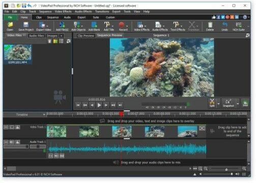 VideoPad Video Editor A6518
