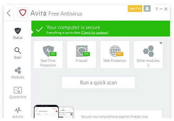 Avira Antivirus 17df5