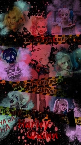 Gambar Harley Quinn Wallpaper Custom Ae25a