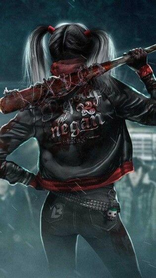 Harley Quinn Wallpaper Hp Custom 60b8d