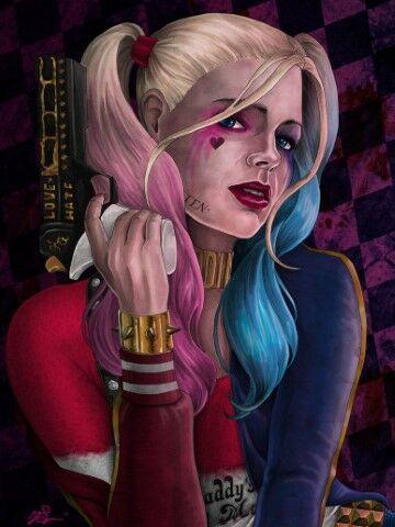 Wallpaper Harley Quinn 4k Custom 05ae7