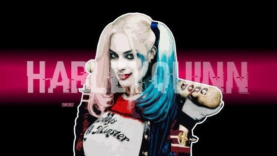 Wallpaper Harley Quinn Anime Custom 7f1f5