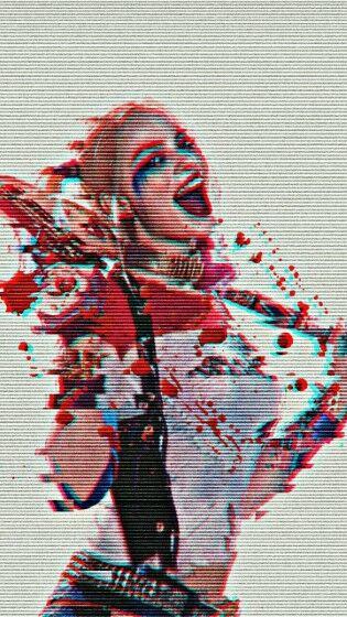 Wallpaper Harley Quinn Anime Custom E858f