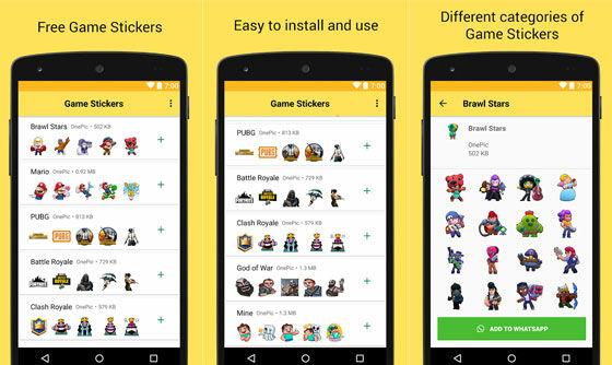 Aplikasi Stiker Wa Gamer Sticker Packs A3c60