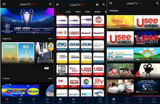 Aplikasi Tv Online Useetv Fc1e9