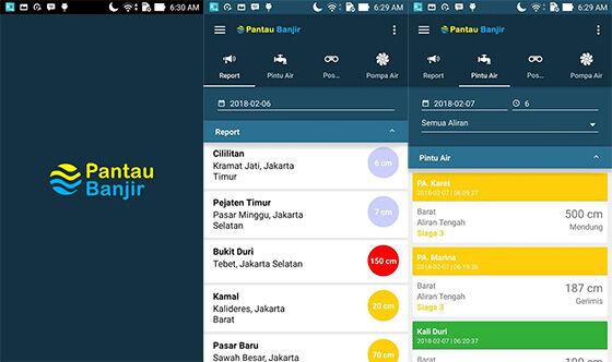 Aplikasi Pantau Banjir Jakarta 94962