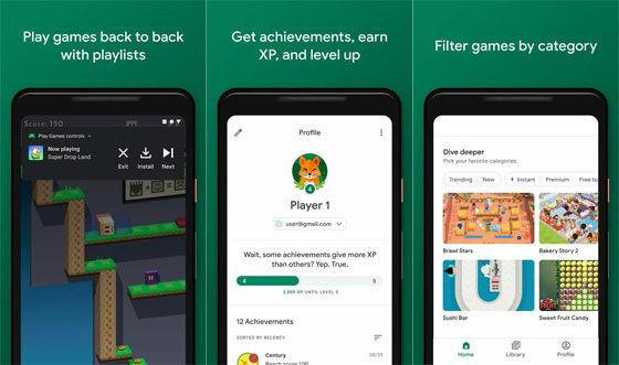 Aplikasi Perekam Layar Google Play Games 786f6