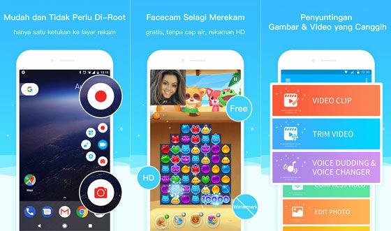 Aplikasi Perekam Layar Super Screen Recorder 7fca7