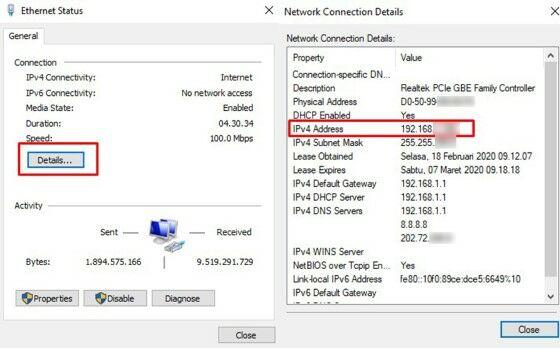 Cek Ip Server 16a7e