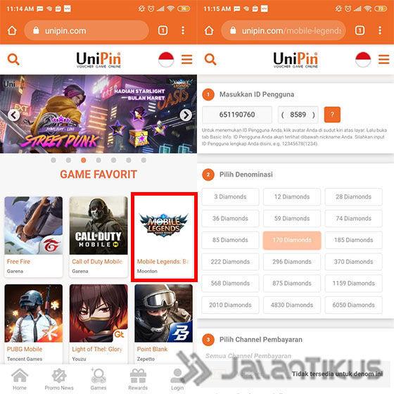 Cara Top Up Mobile Legends 2 9fb3b