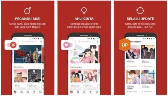 Aplikasi Baca Manga Online E354a