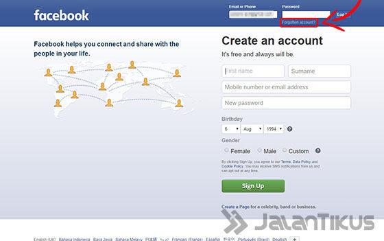 Cara Hack Facebook Lewat HP Tanpa Email 36092
