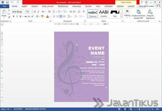 Cara Membuat Poster Dengan Microsoft Word 03 C723a
