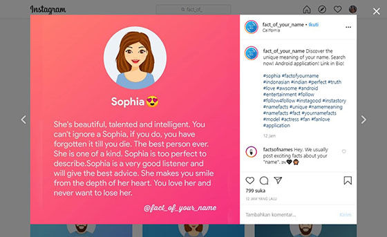 Fact Of Your Name Instagram Rev 5a866