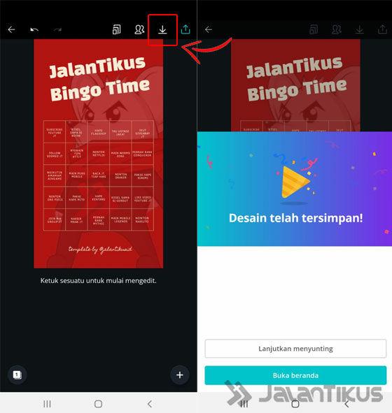 Cara Membuat Template Instagram Bingo 04 57361