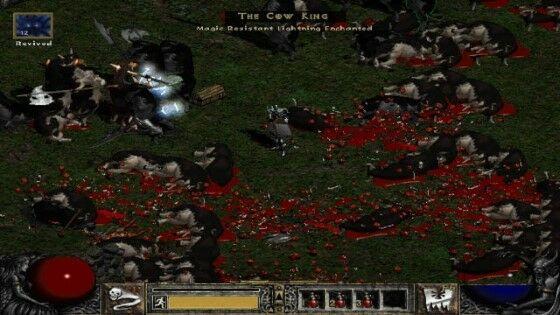 Mitos Video Game Cow Level Custom B493a