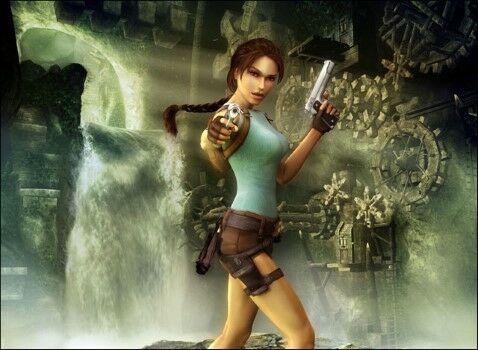 Mitos Video Game Lara Croft Custom Eb497