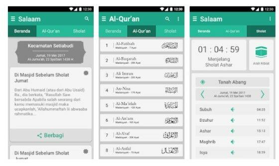 Aplikasi Jadwal Sholat Terbaik Android D5f13