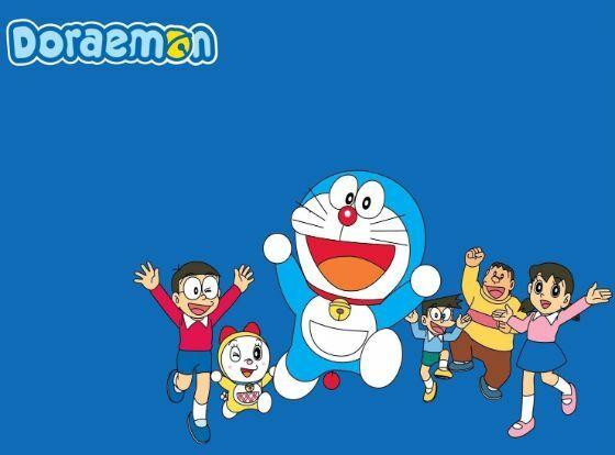 Wallpaper Doraemon Love 03 2 43155