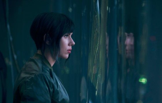 Scarlett Johansson Ghost In The Shell 2017 Cceac