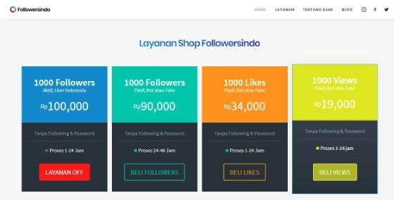 Beli Followers Instagram Followersindo Custom 1c432