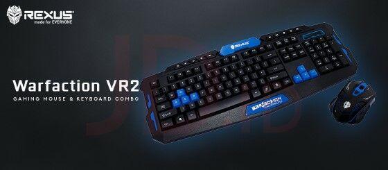 Keyboard Rexus Warfaction VR2 Custom 0e621
