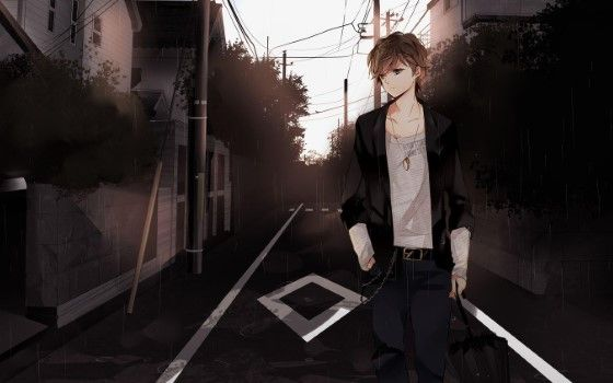 Gambar Anime Cowok Keren 1 Custom D81e6
