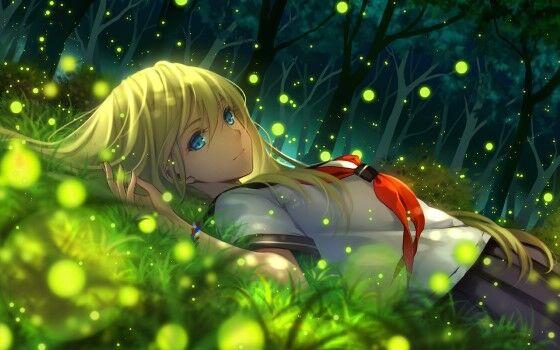 Gambar Anime Keren Perempuan 4 Custom 7996e