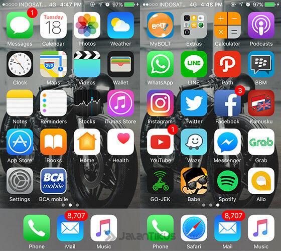 Cara Menyembunyikan Aplikasi Di Iphone 6 E217e