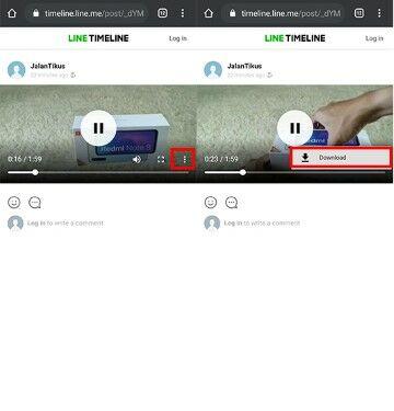 Cara Download Video Line Di Iphone 19d62