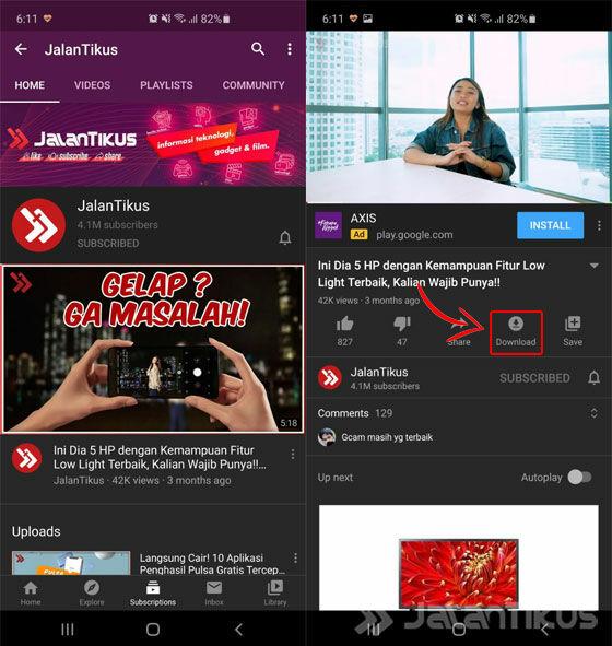 Cara Save Video Youtube Resmi 01 Da88a
