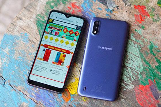 Hp Dibawah 2 Juta Samsung A01 Ab733