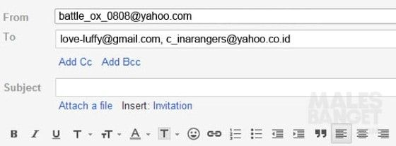 Contoh Alamat Email Lazada F05f0