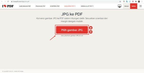 Cara Mengubah Jpg Ke Pdf Tanpa Software Custom 3089c