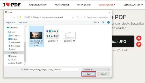 Cara Merubah File Jpg Ke Pdf Di Laptop Custom 109d3