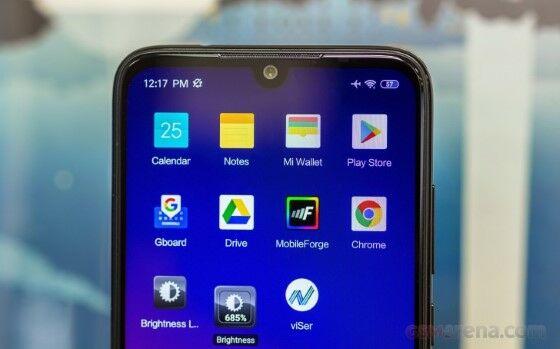Xiaomi Redmi Note 7 Layar Custom F086c