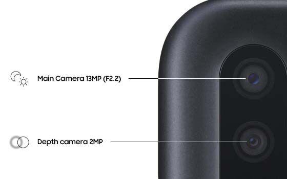 Fitur Dual Camera Samsung Galaxy A01 Spesifikasi A9c9f