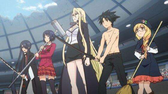Series Anime UQ Holder Deda1