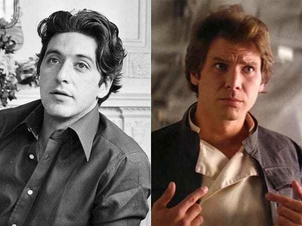 Al Pacino Han Solo Star Wars F68b3